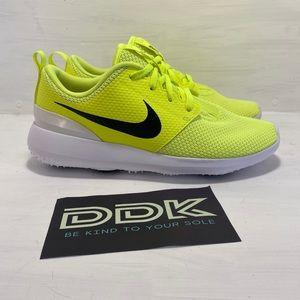 NEW Nike Roshe G Spikeless Golf Shoe Volt 6Y/7.5w
